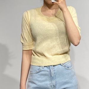 LIA Spring Knit Top