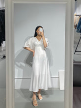 Load image into Gallery viewer, YERI Puff Sleeves Maxi Dress
