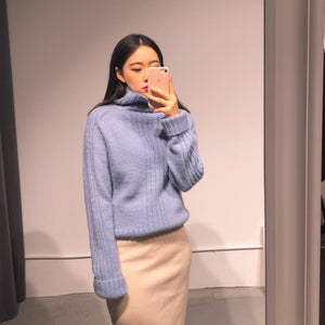 SOMA High-neck Knit Top