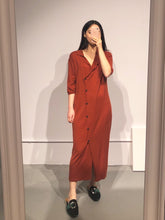 Load image into Gallery viewer, YURI Shirt Maxi Dress