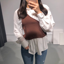 Load image into Gallery viewer, MOKA Knitted Blouse