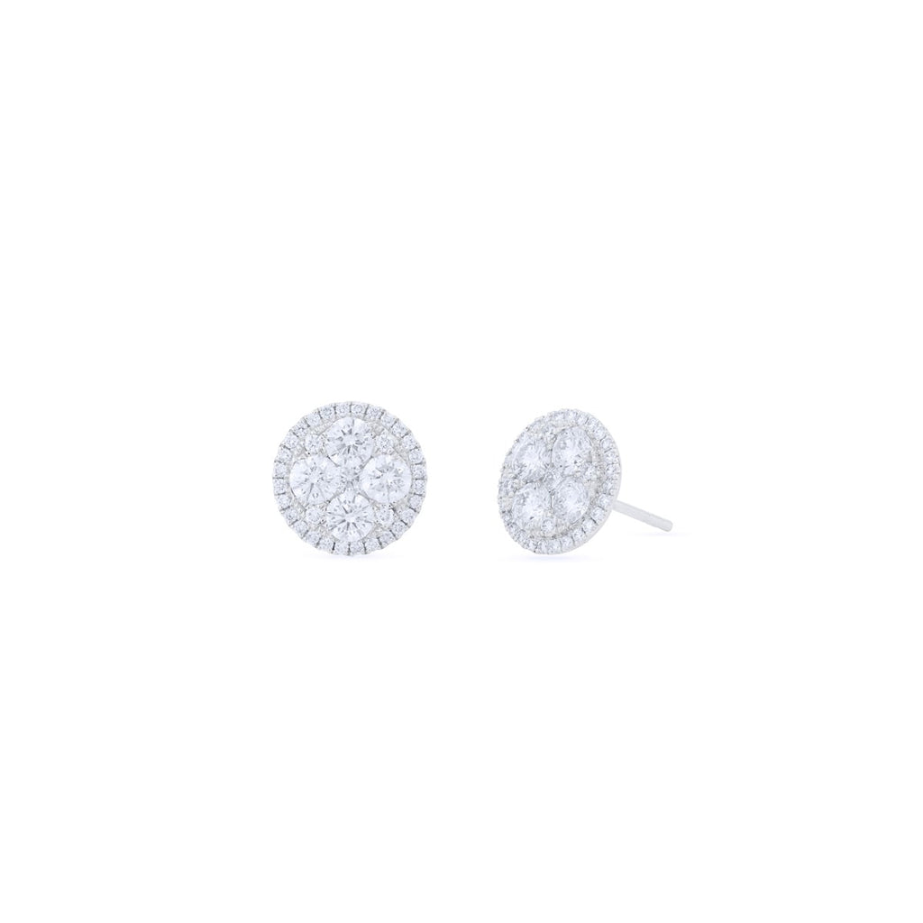 Composite Diamond Earrings
