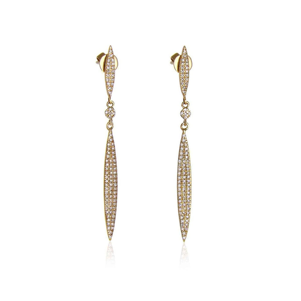 JL Rocks Fine Jewelry, Executive Surfboard Earrings