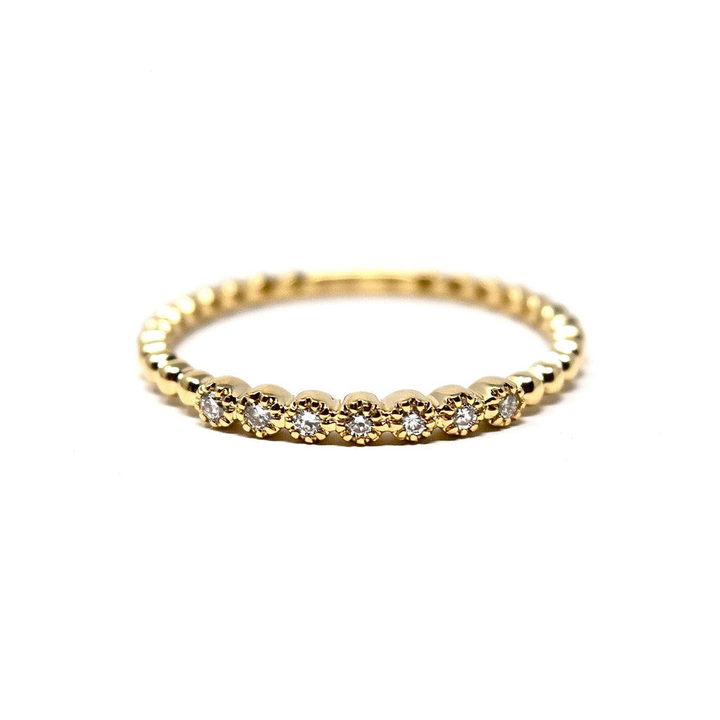 Mini Caviar Band Ring