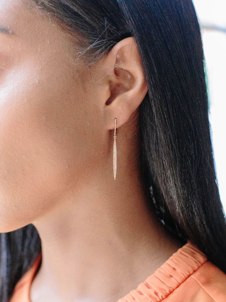 Surfboard Earrings