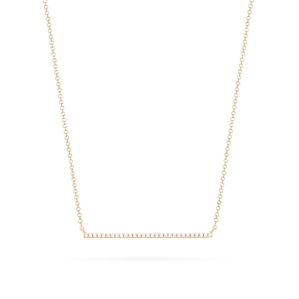 JL Rocks Fine Jewelry, Diamond Bar Necklace