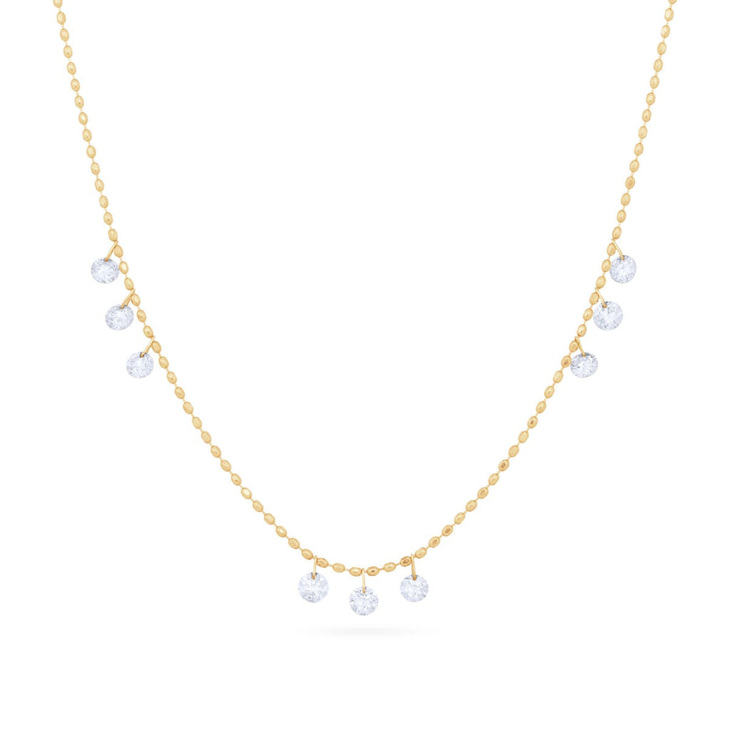 JL Rocks Fine Jewelry, Diamond Ice Drop Necklace