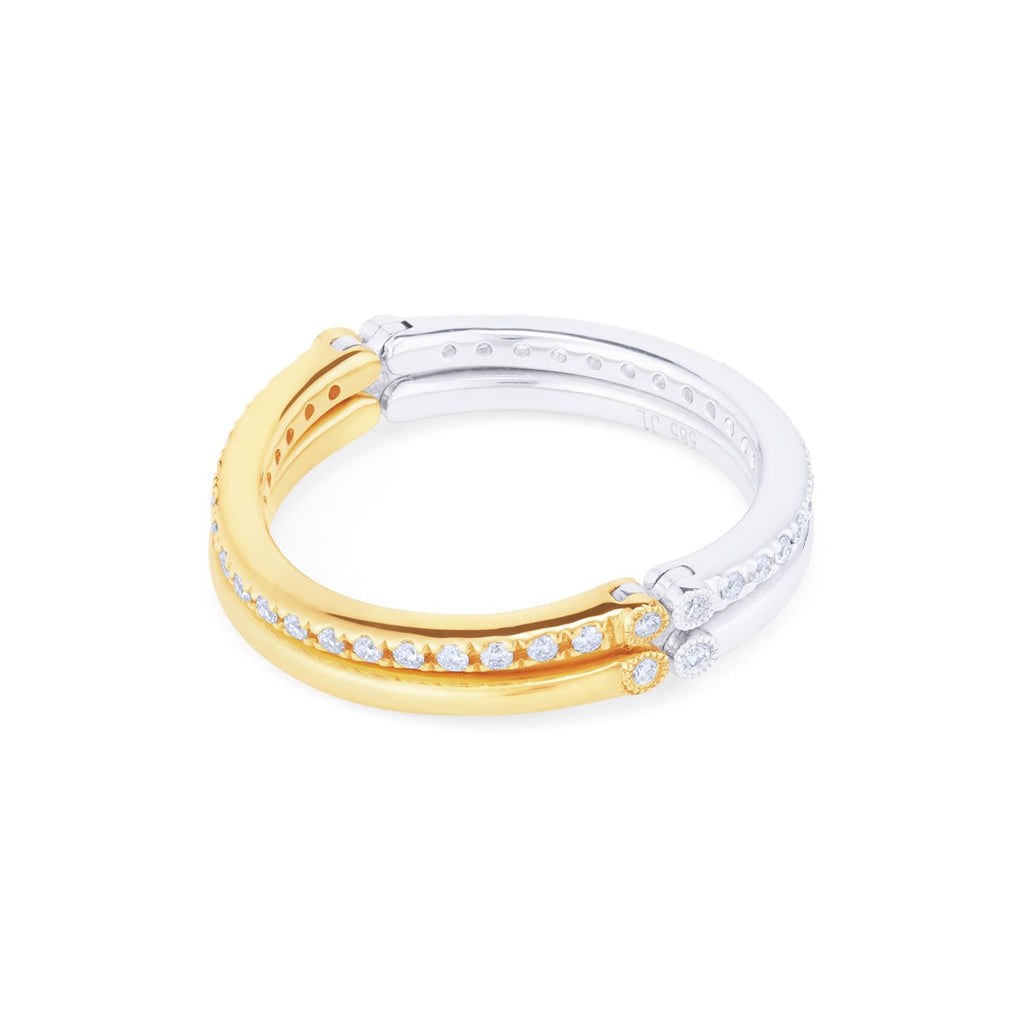 JL Rocks Fine Jewelry, Slim Axis Band Ring