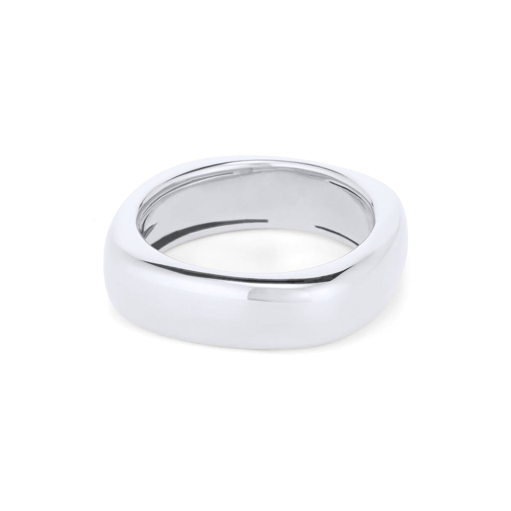 Rounded Square Shiny Ring