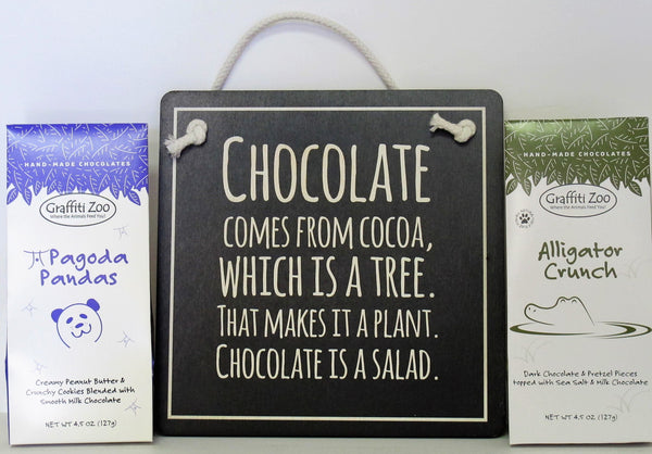 Chocolate Lover Sign Gift Pack