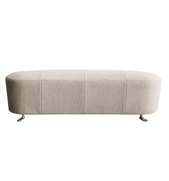 Velvet & Boucle ottomans and bench seats - Perth WA