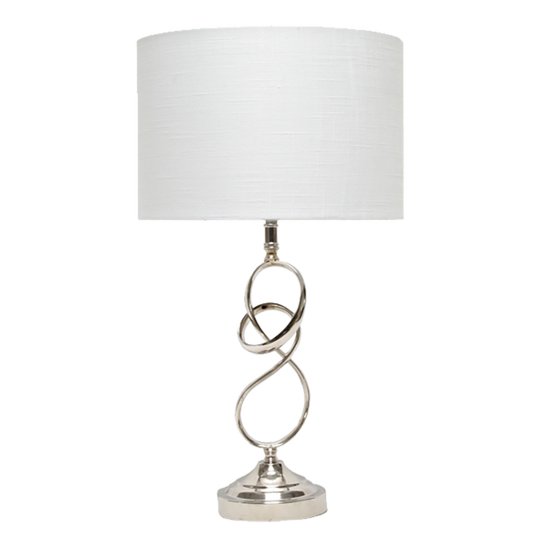 Barton Table Lamp - Silver