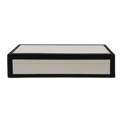 White wooden box with black edging | Home Decor, Boxes & small storage - Perth WA