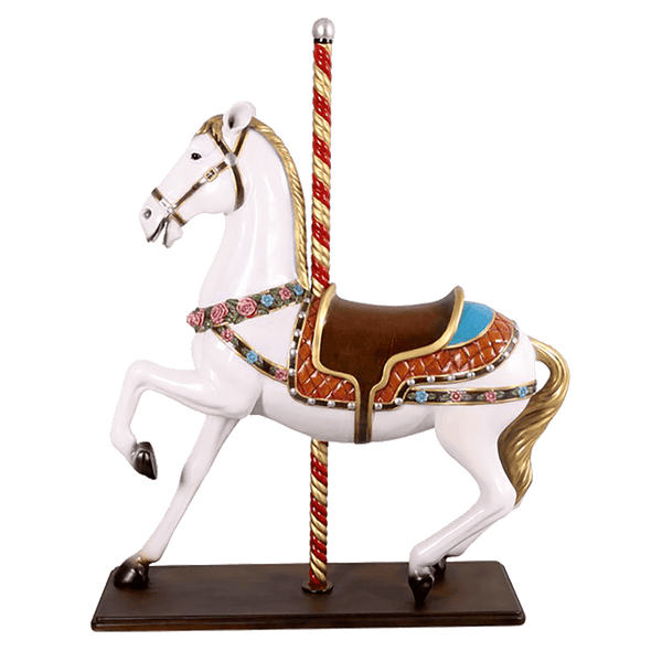 Lifesize carousel horse statue | Decorative home accessories - Perth, WA