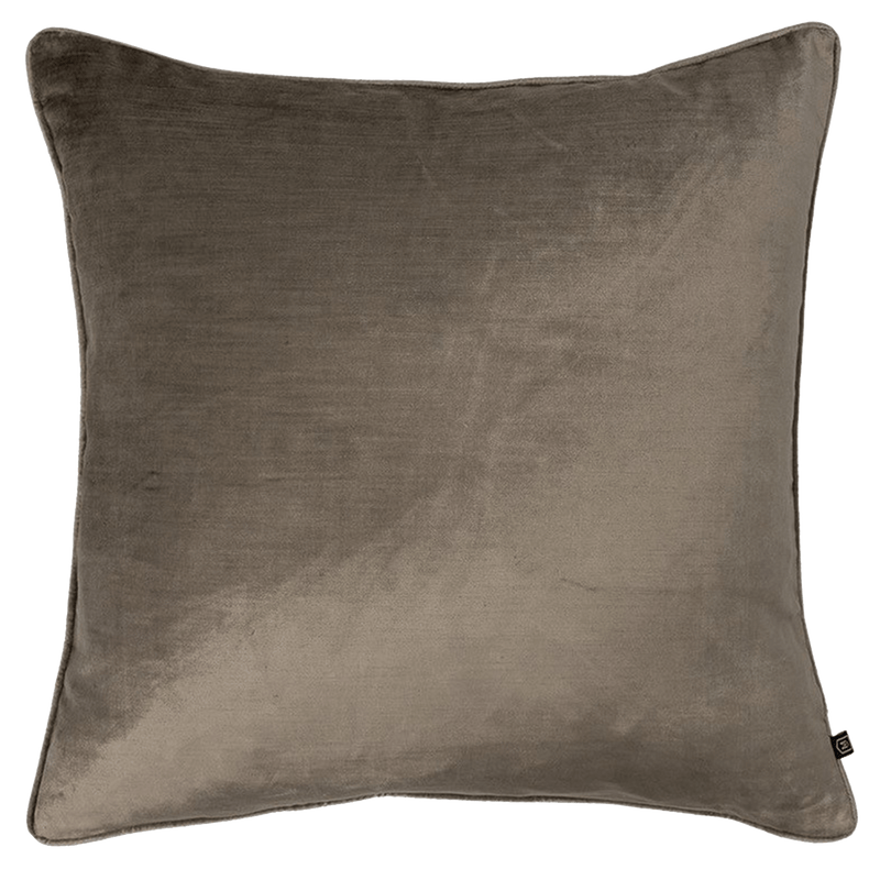 Roma Cushion | Brown square velvet cushion - Perth WA