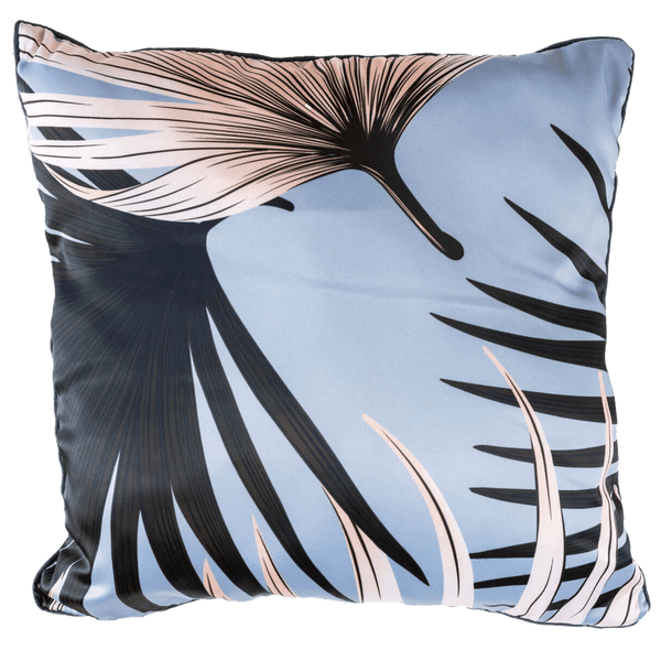 Tropical square cushion in blue, pink and black | Cushions, velvet cushions, luxury home decor - Perth, WA