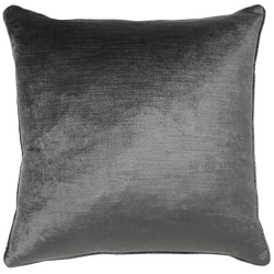 Square grey velvet cushion | Rapee Roma Cushion Perth WA