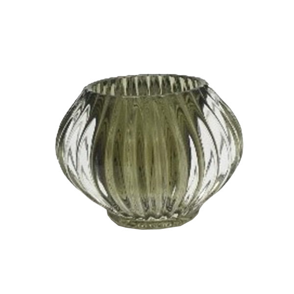 Marquise Candle Holder - Olive
