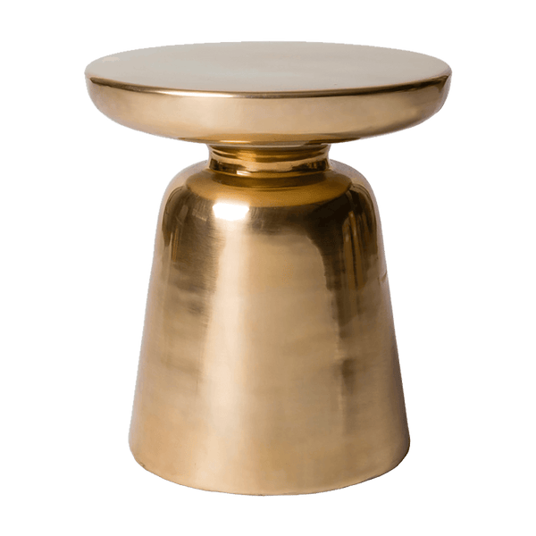 Round gold brass coffee table | Side tables, Perth WA