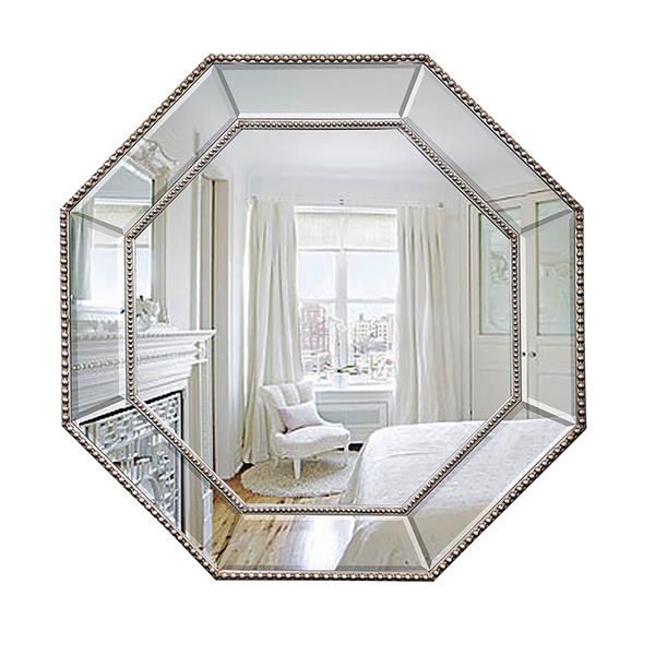 Hexagonal Ball Mirror