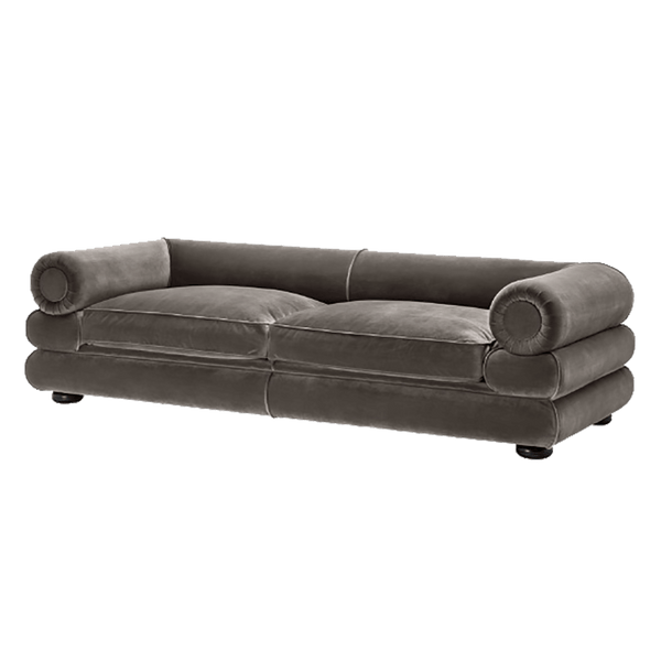 3 seater grey velvet couch | Luxury lounges, couch and sofa | Perth WA
