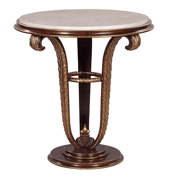 Side Table Plume - Marble Top