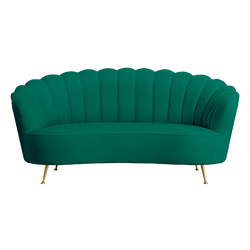 Shell Sofa - Green | Darcy & Duke Perth WA | Luxury Seating & Furniture
