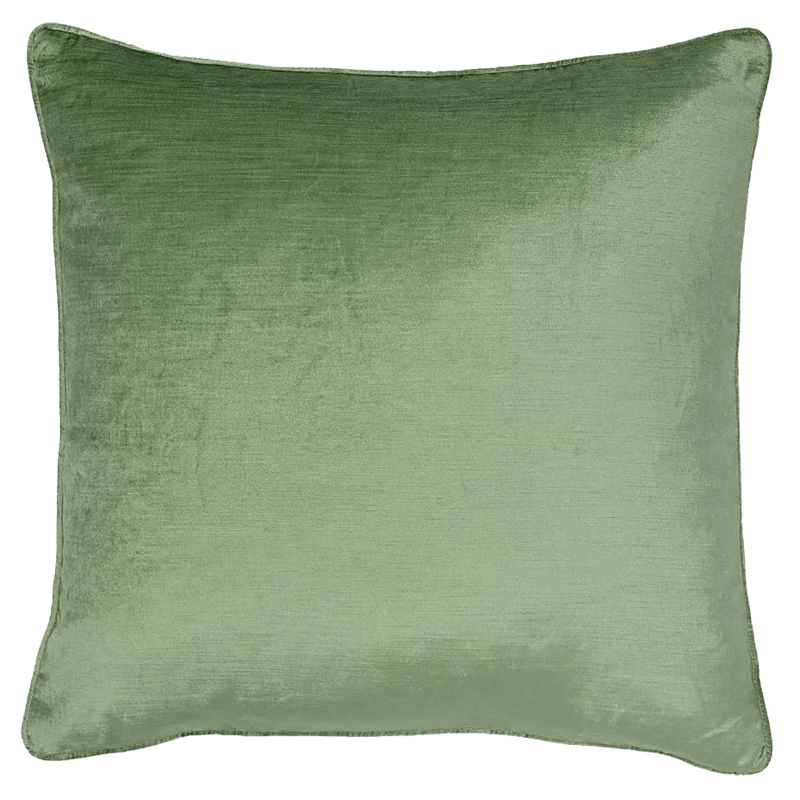 Roma Velvet Cushion - Pistachio Green 55x55cm | Rapee Cushions Perth WA