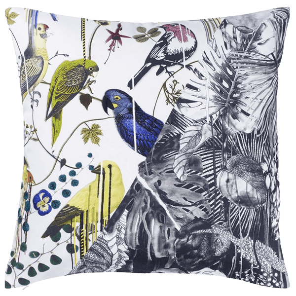 Christian Lacroix Jungle Birds Perce-Neige Cushion | Luxury cushions & homeware - Perth, WA