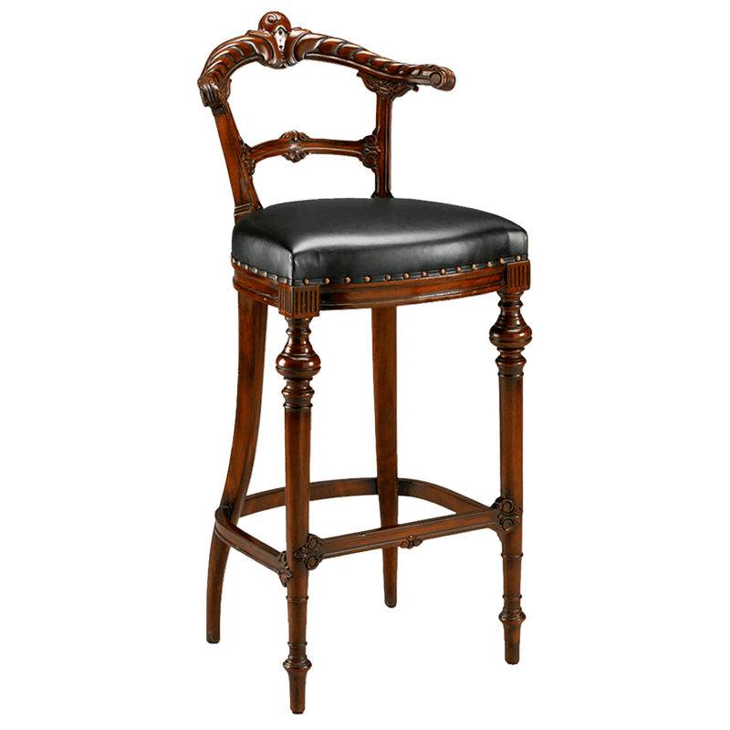Gaming Barstool with Leather