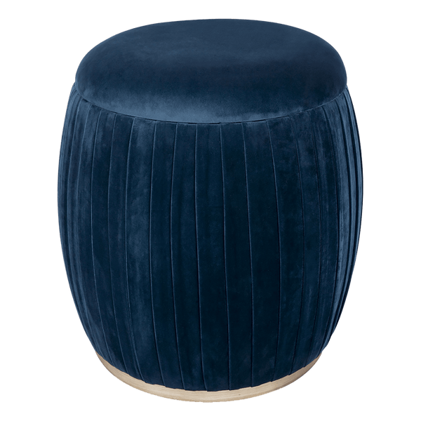 Navy blue capsule storage stool | Ottomans, bench seats & stools, Perth WA
