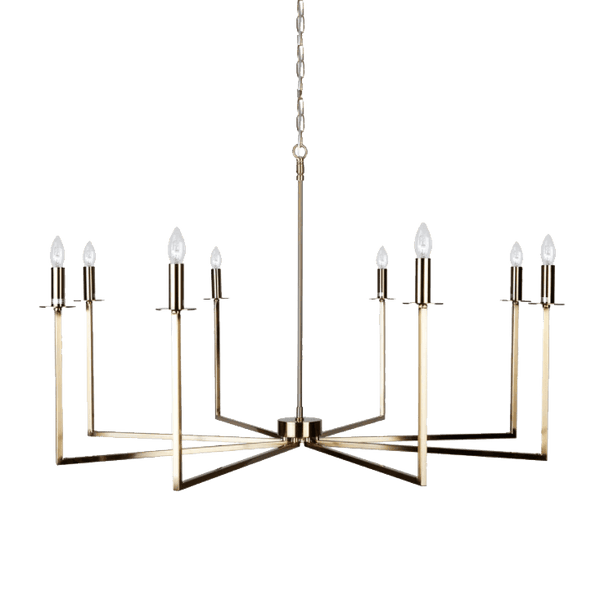 Cohen Chandelier - Brass | Luxury ceiling lighting & lamps - Perth WA