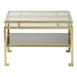 Cosenza Side Table Gold | Luxury furniture - Perth WA