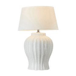 Drawbridge table lamp - white | Luxury lamps & ceiling lighting - Perth WA
