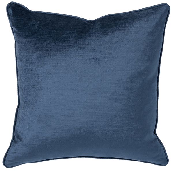 Rapee Roma Square Velvet Cushion Denim | Velvet cushions, luxury cushions - Perth, WA