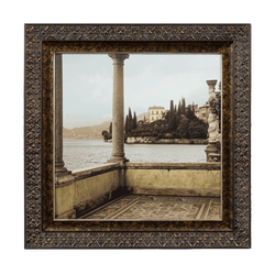 Antique style Italian Coastline Artwork, framed and ready to hang | Art work & Canvases - Perth WA