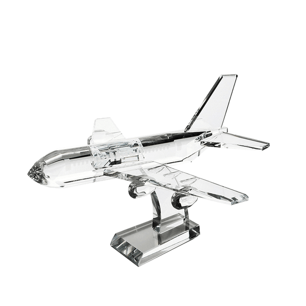 Crystal Jet Plane ornament | Decorative home accessories & Home Decor - PErth WA
