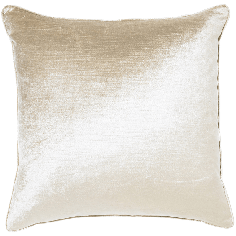 Rapee Roma velvet square cushion champagne | Velvet cushions, luxury cushions - Perth, WA