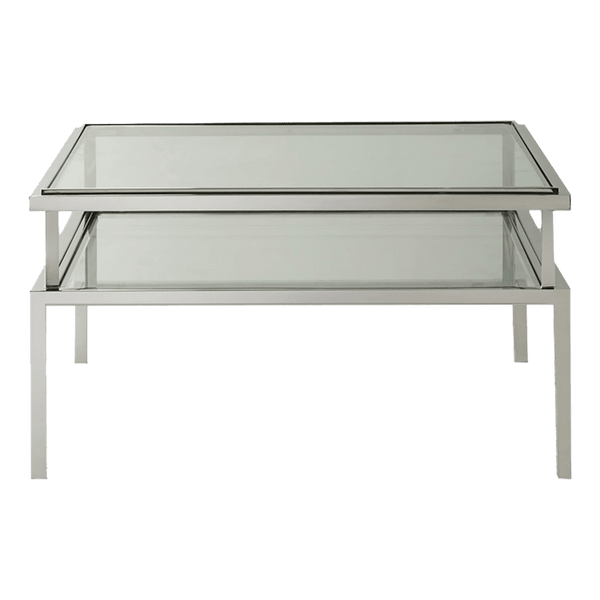 Salerno Coffee Table Silver | Luxury Furniture - Perth