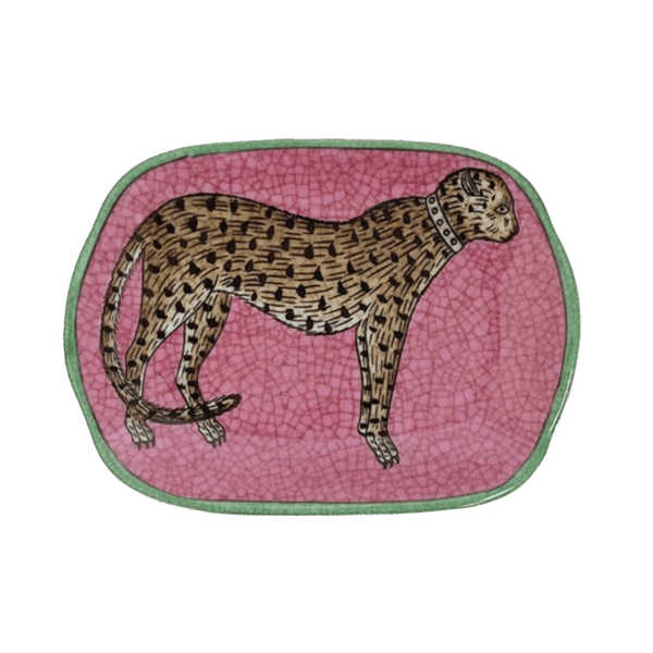 Vintage style leopard soap/trinket dish | Creatively Active Minds Perth WA