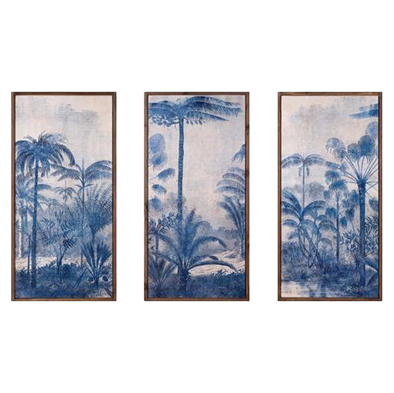 Chinoiserie Trio Art