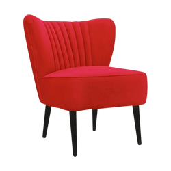 Coco Slipper Chair Red | Darcy & Duke Perth WA