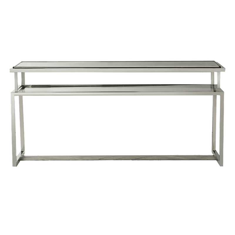 Salerno Console Table Silver | Luxury furniture - Perth WA