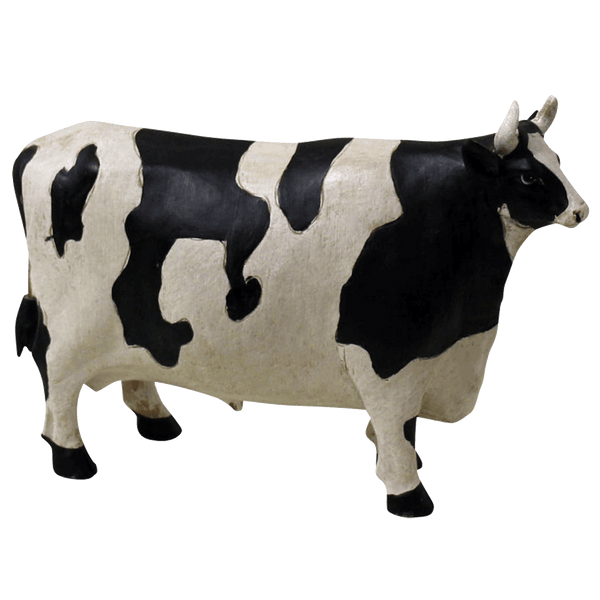 Black and white cow figurine | Home accessories, home decor, homeware - Perth, WA