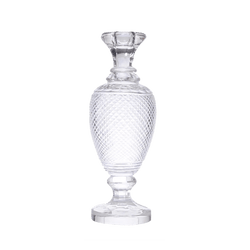 French style crystal candle stick | Candle holders & Hurricanes - Perth WA