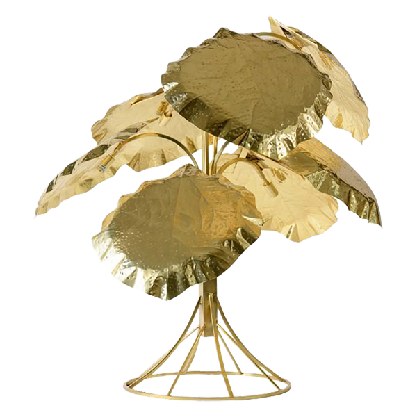 Golden Leaf Floor Lamp