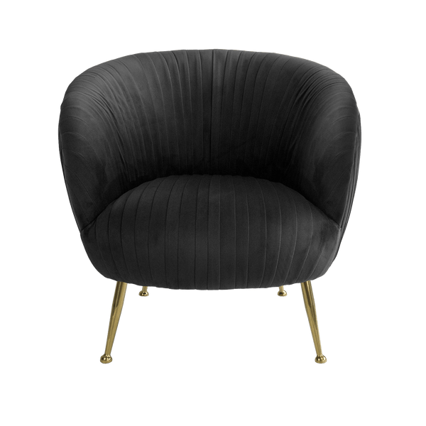 Perugia Armchair - Black | Darcy & Duke Perth WA