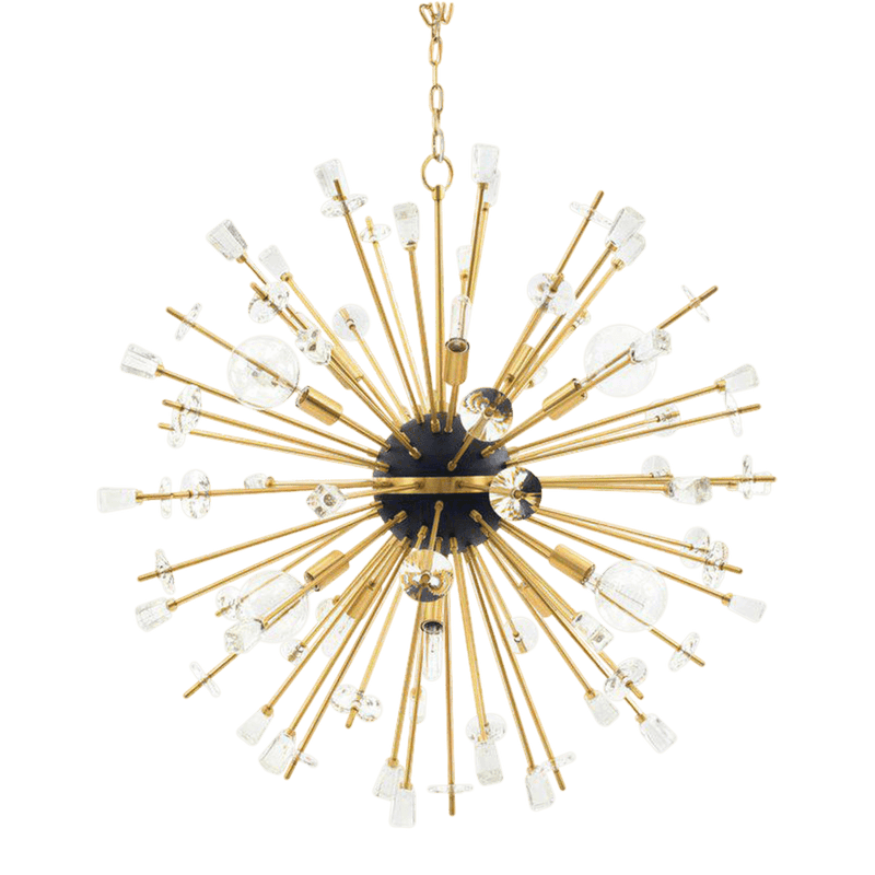 Contemporary Gilt Metal Sputnik Chandeliers | Pendant & Ceiling Lighting Perth WA