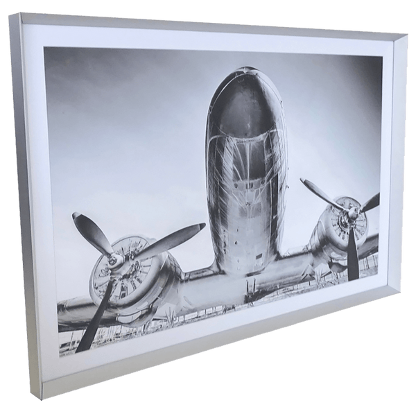 Vintage Warbird twin-propeller aeroplane | Framed prints & art - Perth WA