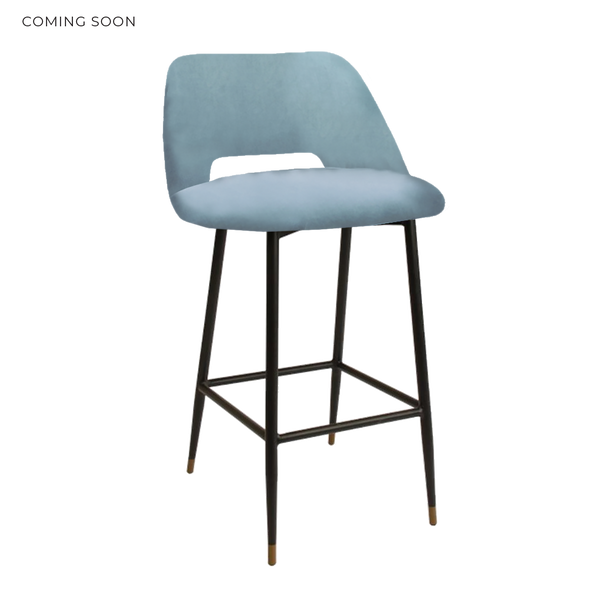 The Boy Bar Stool - Powder Blue